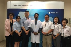 1. Medic Pro and Micro Tech Team with Dr Saravanan, HKL